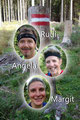 Mit von der Partie waren dieses Mal Rudolf, Angela, Margit und ich (leider nicht auf dem Foto da als Fotograf tätig!).