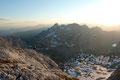 """Nach relativ flotten 30-minütigem Durchsteigens erreichten wir den Ausstieg des """"Hüttenklettersteigs"""".  Von hier folgten wir den Steigspuren über steiniges Terrain zum höchsten Punkt."""