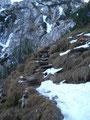 Einige nett angelegte Stufen galt es ebenfalls zu überwinden.