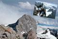 Impressionen vom Gipfeldach des knapp unter der magischen 3000er Marke liegenden Dachsteins. Selbst wenn einiges Kartenmaterial etwas anderes versprechen: Nur wenn man das Gipfelkreuz mitrechnet erreicht man die Marke!