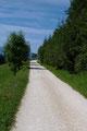 … steuerten wir auf aussichtsreichen Wiesen gemütlich auf die Ortschaft Blümigen zu.