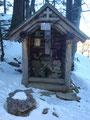 Eine kleine Kapelle zierte den Ort des gezimmerten Brünnlein.