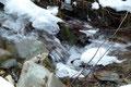 """""""Eisspielerein der Natur"""" in allen Variationen konnte man entlang des Baches bewundern."""
