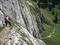 Irgendwie beeindruckend ist diese Steilstufe dennoch!