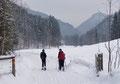 """… welchem wir letztendlich zurück zum Parkplatz beim Koppengut folgten. Fazit: Eine anstrengende, konditionsfordernde und etwas zermürbende Tour auf einen """"par excellence"""" Aussichtsgipfel des Sengsengebirges. Lg. Das Schneeschuhteam"""