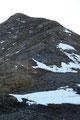 Die letzten 250 Höhenmeter führten nun in leichter Blockkletterei …