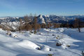 Der windgeschützte Bereich eines riesigen, markanten Felsblockes gestaltete sich als ideale Rastmöglichkeit. Bei einem kleinen Imbiss und wärmenden Tee konnte man die Eindrücke einer zauberhaften Winterlandschaft förmlich aufsaugen.