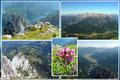 Gosausee, Gosau und tief hinein ins Salzburger Land war alles überblickbar.