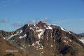 … auf der gegenüberliegenden Seite erhob sich die mächtige Wildspitze.