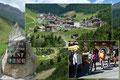 Nach 4 Stunden Autofahrt hatten wir endlich das kleine Bergsteigerdorf  Vent in Tirol erreicht. Nach einem kräftigen, etwas verspäteten Mittagessen im Gasthaus/Hotel Alt Vent startete unser 19-köpfiges Team die 2-Tages-Tour direkt im Ortskern des Dorfes.