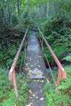 Ich folgte der kleinen Brücke über den Lasitzenbach und …