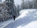 Bei solch traumhaften Bedingungen machte es gleich doppelt so viel Spaß in Frau Holles Winterlandschaft umherzustapfen.