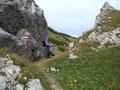 Für ein kleines Fotoshooting in der Kulisse der Bergwelt war immer genügen Zeit vorhanden, jedoch …