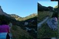 … dann zog sich der ständig moderat ansteigende 633er Wanderweg immerhin noch 300 Höhenmeter und ca. 1,5 km zum Grabnertörl bergan.