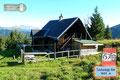 … ratziputz war sie auch schon erreicht.  Die kleine private Hütte mit einer traumhaften Aussicht  ist leider unbewirtschaftet.