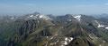 … der Blick nach Norden zur Hochwildstelle, zum Greifenberg und Waldhorn. Ganz egal in welche Richtung ich sah, es gab noch viele neue ersteigbare Gipfelziele für mich.