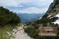 Abgerundet wurde diese Runde beim Abstieg zur Toni-Lenz-Hütte von dem überwältigenden Panoramablick. Vom Watzmann, Hochkönig bis hin zum Steinernen Meer war alles in diese tolle Aussicht gepackt.