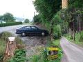 Meine heutige Tour begann am Parkplatz des Gasthofs Stadtwald. Von hier aus folgte ich zuerst der Asphaltstraße vorbei am Schlepplift und …
