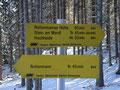 Dank an dieser Stelle an den Alpenverein (Sektion Rottenmann) für die hervorragende Beschilderung des Weges.