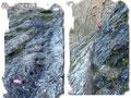 Aber schon führte uns der Steigverlauf einen weiteren Aufschwung empor. Stahlseile, die für erfahrene Berggeher jedoch nicht zwingend notwendig waren,  halfen  bei der Überwindung der nachfolgenden glatten Felsplatten.