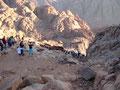 ... und diesen Gedanken dürten auch die ca. 250 Touristen gehabt haben die auch am Gipfel waren.