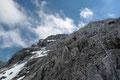 """Noch eine allerletzte Drahtseillänge des """"Westgrat-Felsenweges"""" und …"""