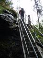 Angeblich galt es ca. 500 stufen zu überwinden. Die wievielte war dies bereits?