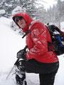 ... jedoch beschlossen wir hier unsere Tour abzubrechen, den es gab an diesem Tage hier auf grund der enormen Schneelage für uns kein Weiterkommen mehr. Wir marschierten ein paar Meter zurück, auf ein ebenes Stück und machten dort unsere Jausenpause.