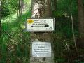 Ein jede Tour beginnt einmal beim Einstieg ... dieser führt uns über die Hiaslalm auf den Eibenberg