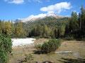 Hier auf diesem Bild wäre eine unserer nächsten Hochtouren zu sehen, der Hochmöbling (2336m).