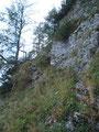 Dieser Klettersteig wies einen Schwierigkeitsgrad von A/B auf ...