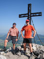 ... schon war das Gipfelkreuz des Schobers erreicht.