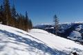Wir bemerkten sehr rasch, dass die Schneeoberfläche aufgrund der starken Sonneneinstrahlung extrem auffirnte und es roch nach Spaß. Sehr viel Spaß!