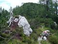 Wir beschlossen an dieser Stelle beim Abstieg noch einen kleinen Umweg zum Gipfel des Scheidkogels in Kauf zu nehmen.