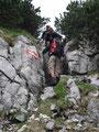 Wir hatten alle sichtlich Spaß beim Klettern.
