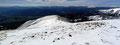 … schon setzten wir unsere Schneeschuhtour weiter fort. Als nächstes Ziel steuerte unsere 5er Gruppe die breite Einsattelung zwischen Greim und Sandkogel an.