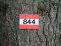 … immer dem Weg Nr. 844 folgend …