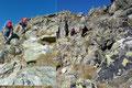 Mit etwas Trittsicherheit stellte es für einen geübten Berggeher absolut keinerlei Problem dar, sondern sorgte sogar für eine gelungene Abwechslung.