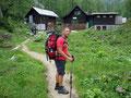 ... erreichten wir die Rinner Hütte.