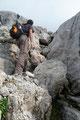 Erneut verlangte eine weitere Hürde etwas klettertechnisches Geschick. Kein Problem!!! Schwuppdiwupp, schon waren wir drüber und …
