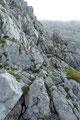 """Wunderschön angelegt und überaus gut markiert, nutzte der """"Kraxlsteig"""" beinahe fast alle Felsbänder und …"""