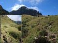 Noch ein paar Höhenmeter hinauf und wir hatten das erste Plateau erreicht.