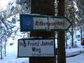 ... als wir unsere Wanderung Richtung Rottenmanner Hütte fortsetzten.