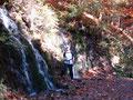 Ein kleiner Wasserfall zum Abkühlen!