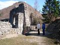 Zuerst machten wir einen kleinen Abstecher auf die Ruine Scharnstein