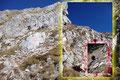 Die letzten Höhenmeter hinauf auf das riesige Plateau verlangten noch einmal volle Konzentration von uns. Durchwegs steil ging es über riesige Felsbänder hinauf.