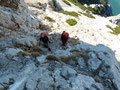Gesagt getan, so stiegen wir konzentriert in das Teilstück ein. Jeder von uns freute sich schon auf die nächste Kletterpassage!