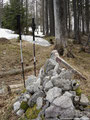 Am höchsten Punkt des Farnaugupfes. Bevor ich mich jedoch wieder an den Abstieg machte legte ich noch eine Jausenpause ein.