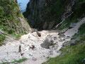 Kurz darauf befanden wir uns schon am Wasserfall.