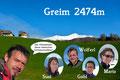 Grias Eich olle mitnaund! Gleich am Anfang möchte ich euch das Team dieser heutigen steirischen Schneeschuhtour vorstellen. Mit von der Partie waren meine schon treuen Begleiterinnen und Begleiter …